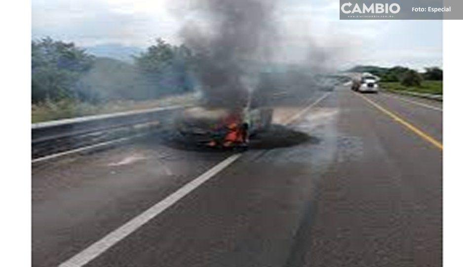 Asesinan a taxista y le prenden fuego en Atlixco, tenía dos hijos que hoy son huérfanos