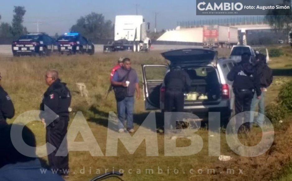 Asesinan a trailero a balazos en intento de asalto en la Puebla- Orizaba en Acatzingo