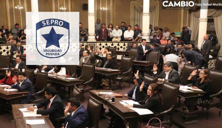 SEPRO, empresa que electrocutó a fans de Caifanes ahora custodiará a diputados de Puebla