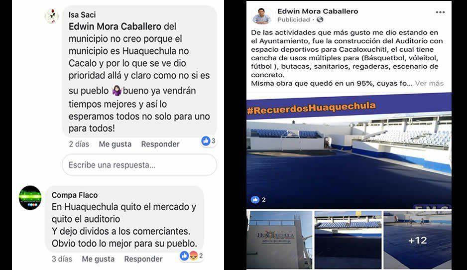 El ex alcalde Edwin Mora deja diversas anomalías en el ayuntamiento de Huaquechula