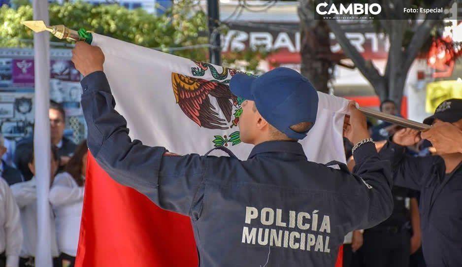 Evalúan y acreditan 135 policías de Texmelucan  en el Centro de Control y Confianza del Estado