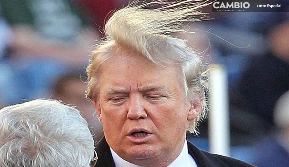 Trump defiende su cabello, dice que no es injerto