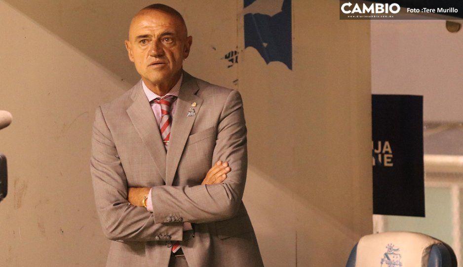No tengo nada que reprochar a mis  jugadores tras derrota ante León: Chelís