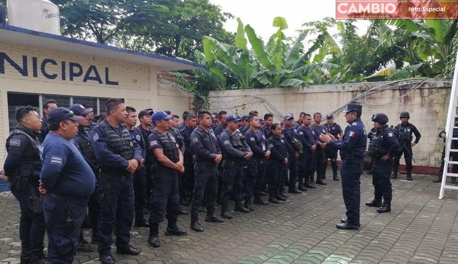 Avanza la certificación de policías en Venustiano Carranza Puebla