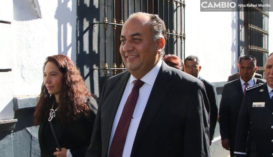 Comparece David Méndez y ofrece respeto al Legislativo, Judicial y organismos autónomos