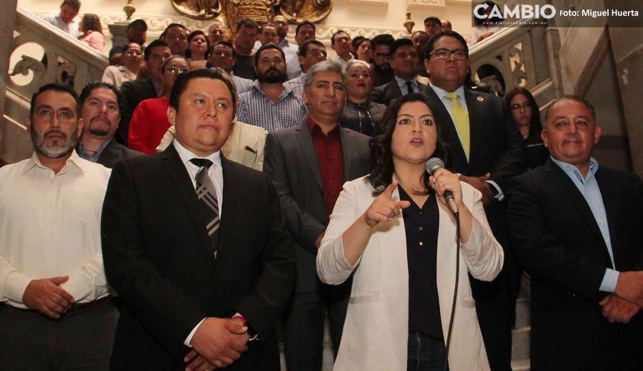 A puerta cerrada, Claudia y Gonzalo Juárez acuerdan aumento salarial del 4.6 por ciento a trabajadores del Ayuntamiento