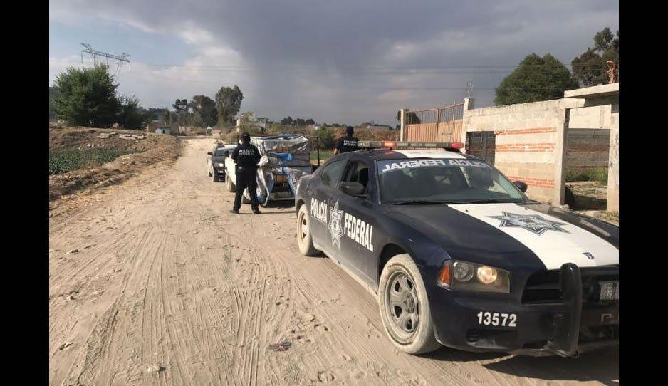 Saqueadores de trenes se enfrentan con policías en Cañada Morelos; un menor fue baleado