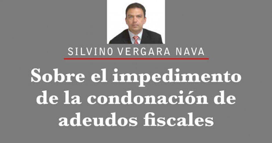 Sobre el impedimento de la condonación de adeudos fiscales