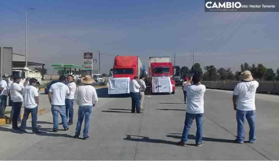 Transportistas de la Conatram recibirán a AMLO con manifestación en la México-Puebla