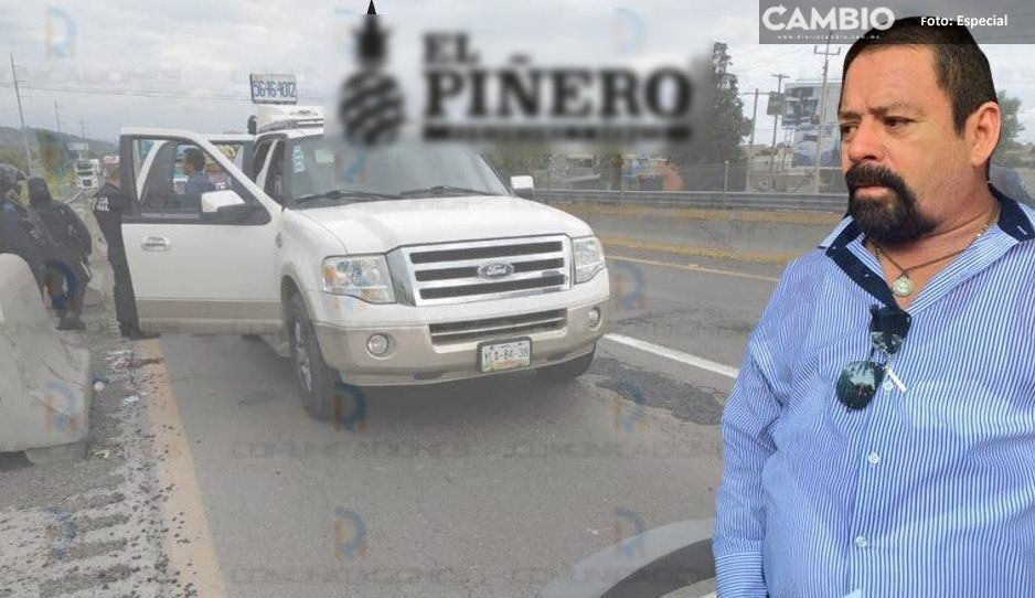 En asalto en Texmelucan, hieren a ex alcalde de Oaxaca, más tarde muere