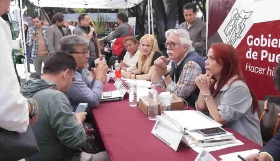 Analiza Secretaría de Cultura proyectos de poblanos en la 2da jornada Ciudadana