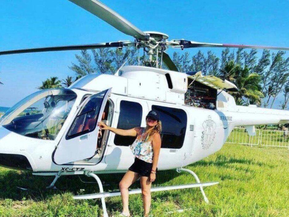 Funcionaria de Veracruz usa helicóptero oficial para ir a concierto de los reguetoneros Piso 21