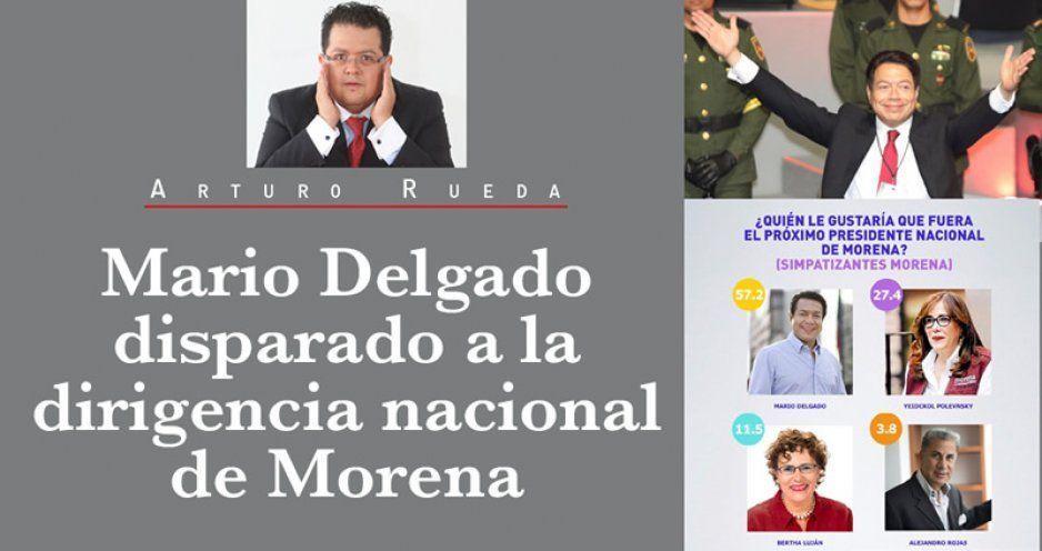 Mario Delgado disparado a la dirigencia nacional de Morena