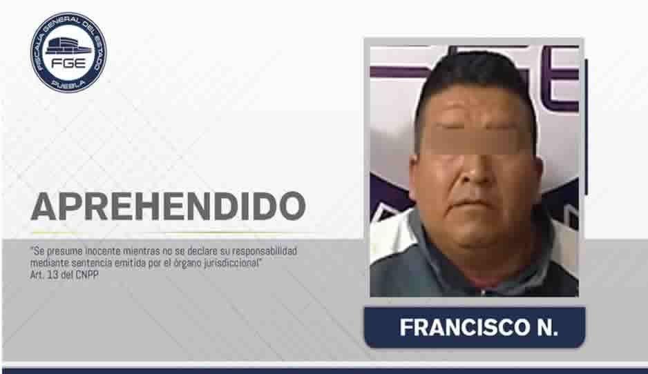 Detienen a feminicida que asesinó a su pareja en Zacapoaxtla