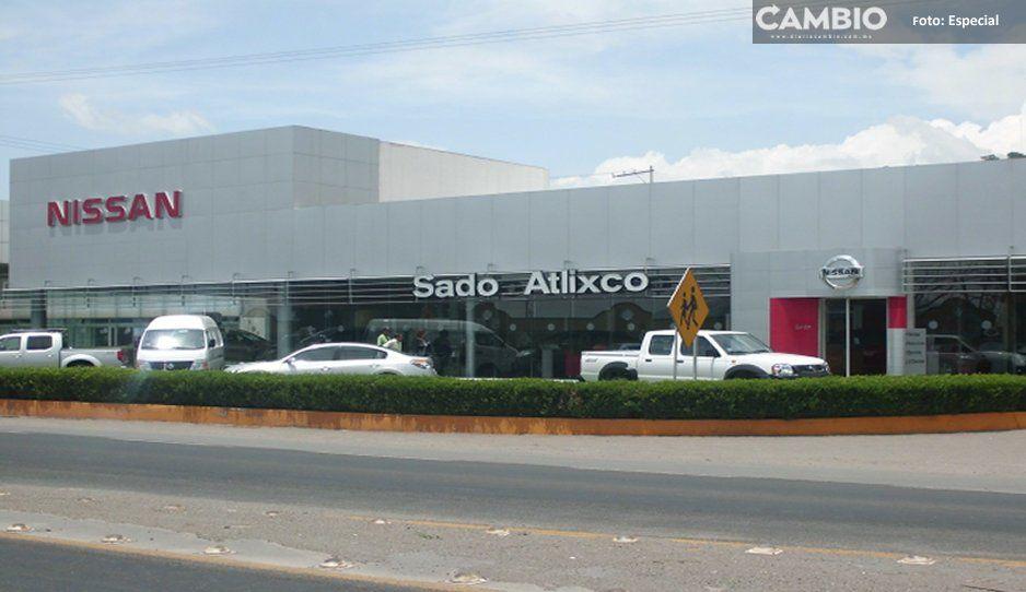 Roban y balean a vendedor de automóviles en Atlixco