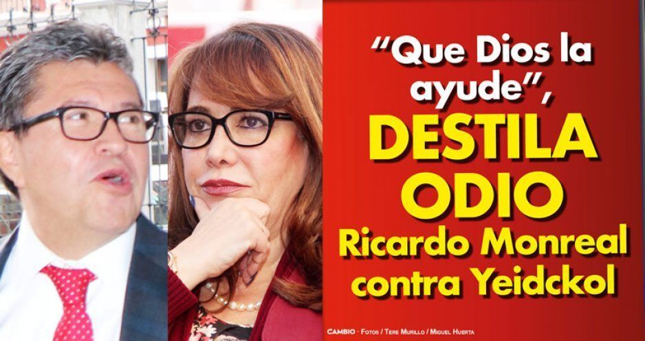 """Bufa Monreal vs Yeidckol: """"que Dios la ayude"""""""