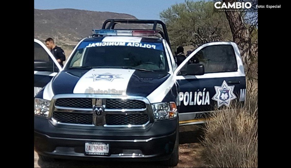 Sujetos armados atacan y desarman a policías de Tlalancaleca