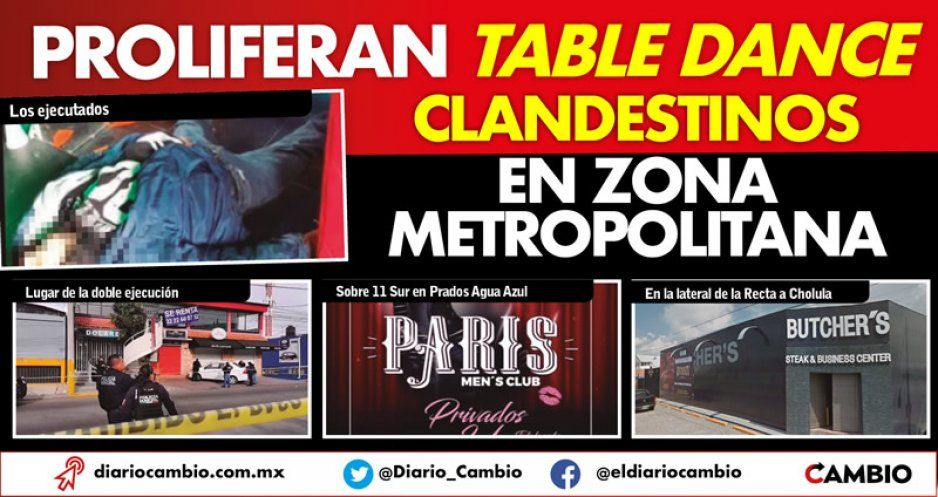 Proliferan table dance  clandestinos en zona metropolitana