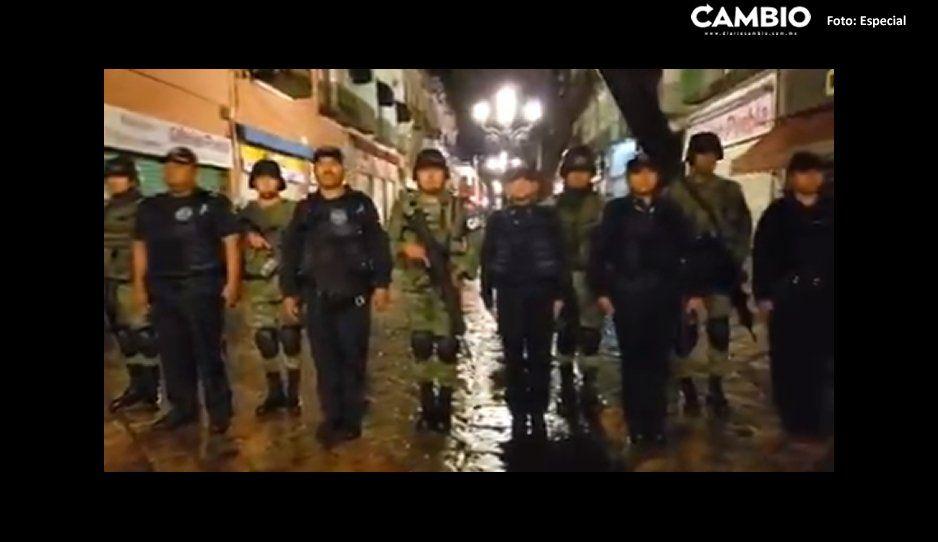¡Todos tranquilos! Guardia Nacional llega a Puebla capital