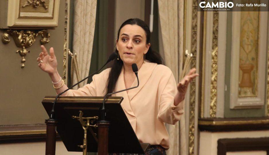 Bancada del PAN abandonó la toma de protesta de Félix Cerezo para mostrar su descontento