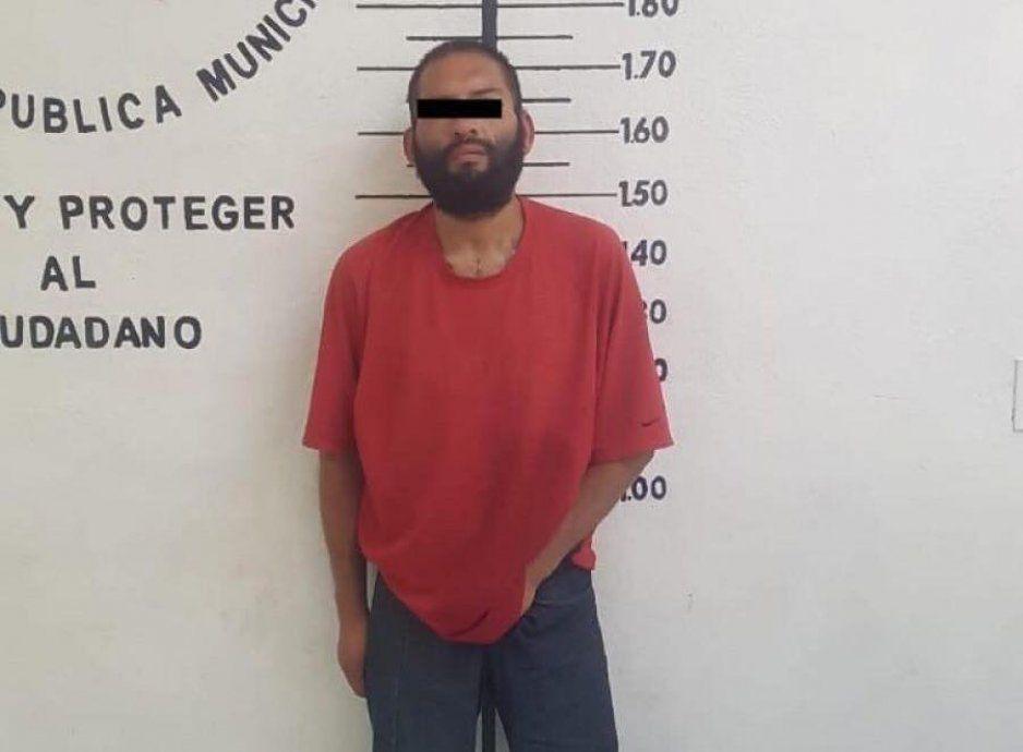 Policía de la SSC de San Pedro Cholula detiene a probable responsable de tentativa de robo de vehículo