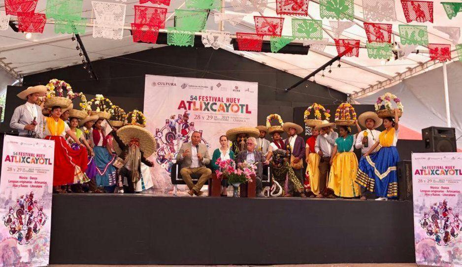 Promueve alcalde Memo Velázquez Festival Atlixcayotl en Ciudad de México