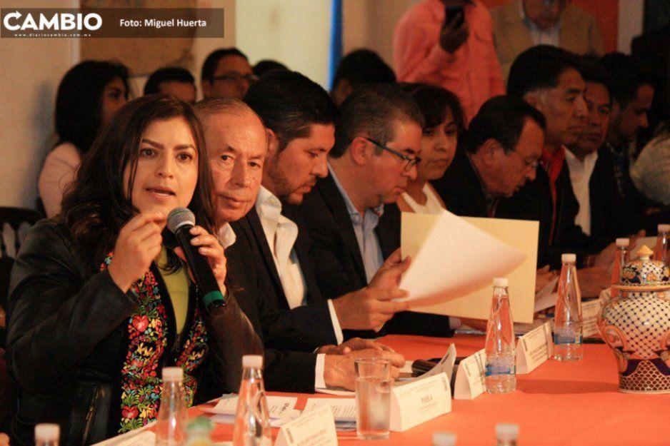 Claudia participa en reunión del Imeplan para prevenir accidentes como el ocurrido en San Tomás Chautla
