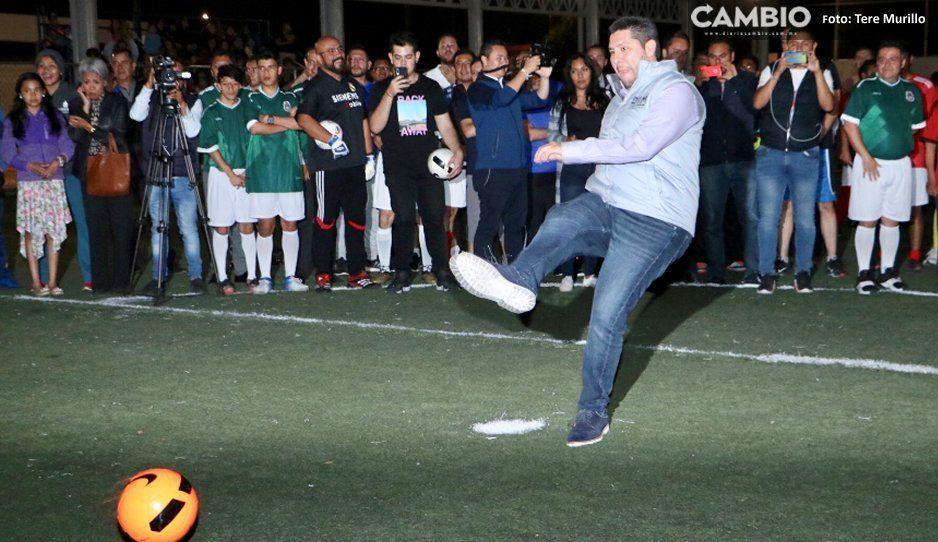 SGG da inicio al Torneo  Interno de Fútbol 7 varonil