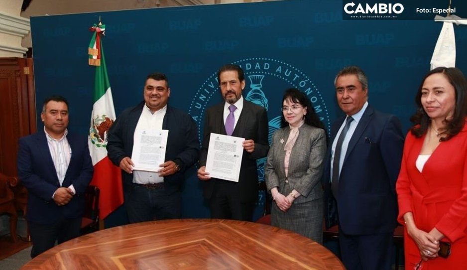 Ayuntamiento de Venustiano Carranza y  BUAP firman convenio de colaboración