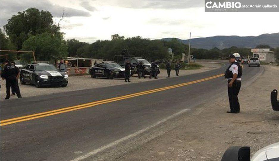 Tras persecución, Policía Estatal recupera camioneta robada en Yehualtepec
