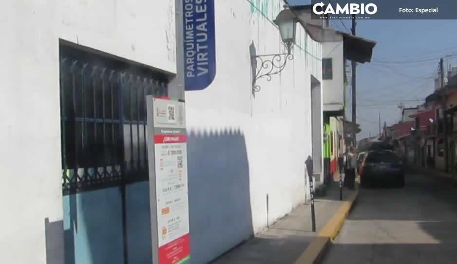 Ayuntamiento de Zacapoaxtla estafa a ciudadanos con los parquímetros