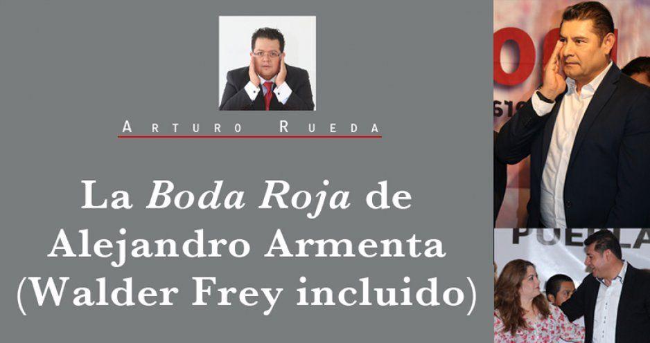 La Boda Roja de Alejandro Armenta (Walder Frey incluido)