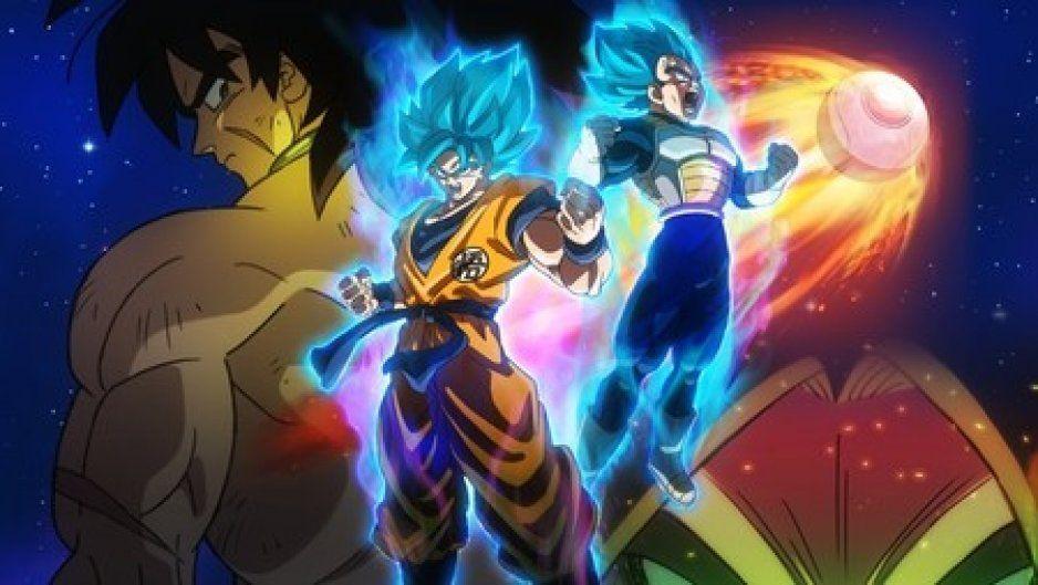 Dragon Ball Super: Broly, se posiciona como una de las películas más taquilleras en su primer fin de semana