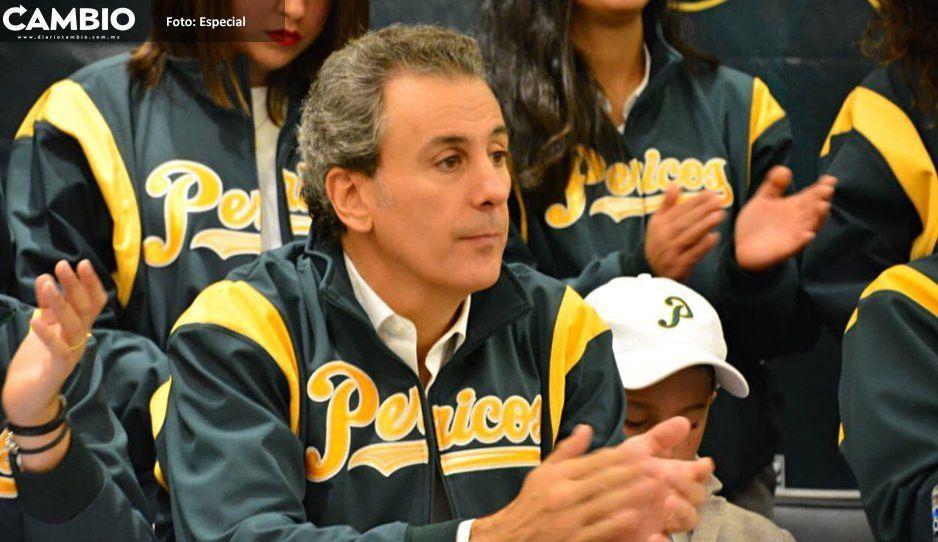 Pepe Chedraui, bien con AMLO y con el beisbol; se integra al patronato de Pericos de Puebla