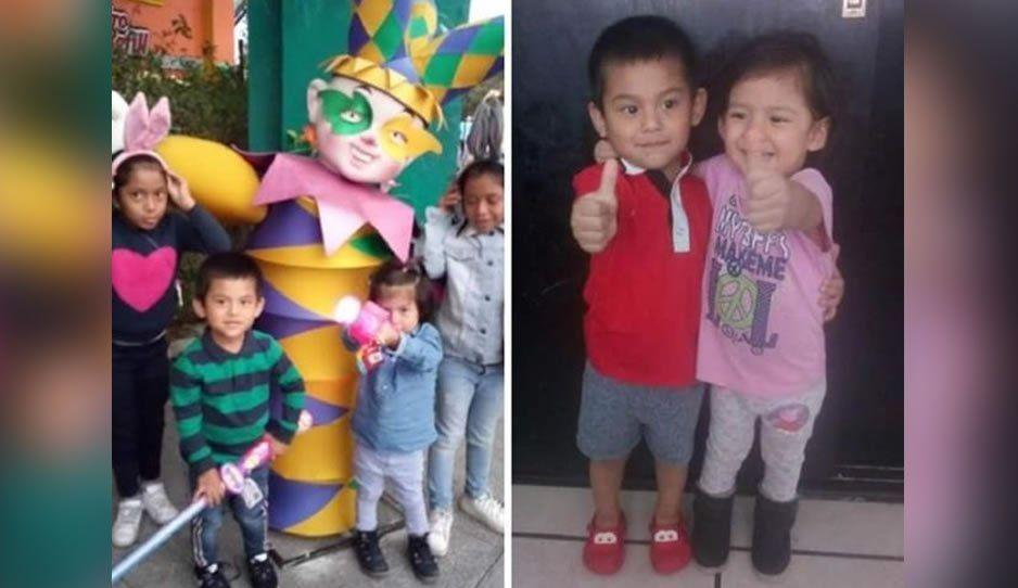 Sospechan de la mamá en el caso de la desaparición de los cinco niños del Valle del Ángel