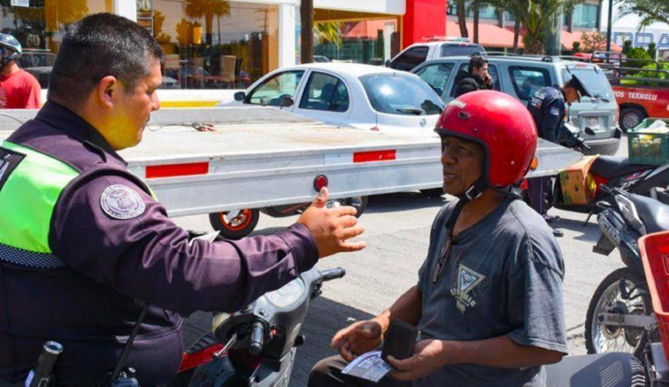 Motociclistas protagonizan 76 de 113 accidentes viales en la región de Texmelucan
