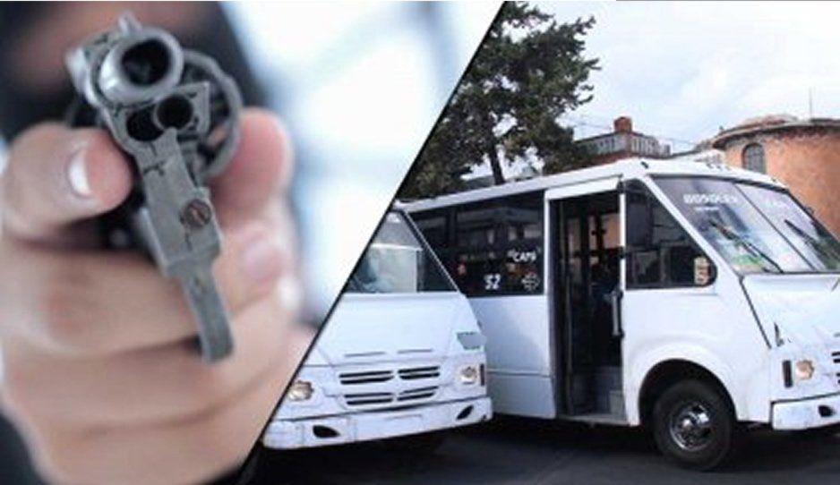 ¡Violencia imparable! Encañonan y asaltan a pasajeros de la ruta 61 y 14-A