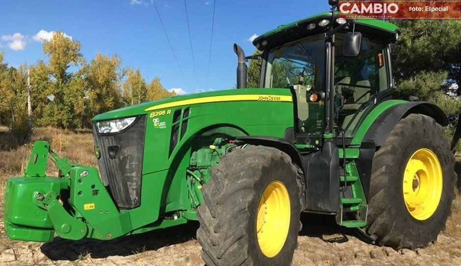 Se organizan y recuperan tractor agrícola robado en Felipe Ángeles