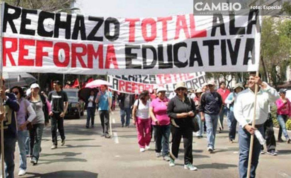 CNTE amenaza con echar abajo reforma educativa de AMLO