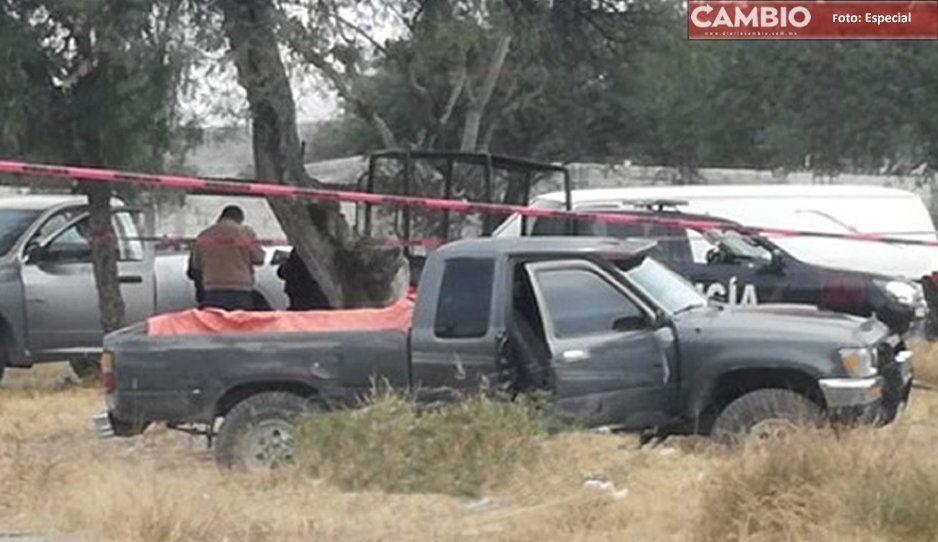 Hallan hombre torturado y ejecutado con tiro de gracia en Tecamachalco