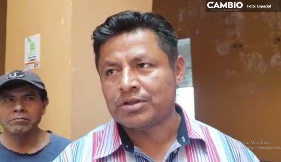 VIDEO: Protestan comerciantes del mercado La Purísima en alcaldía de Tehuacán