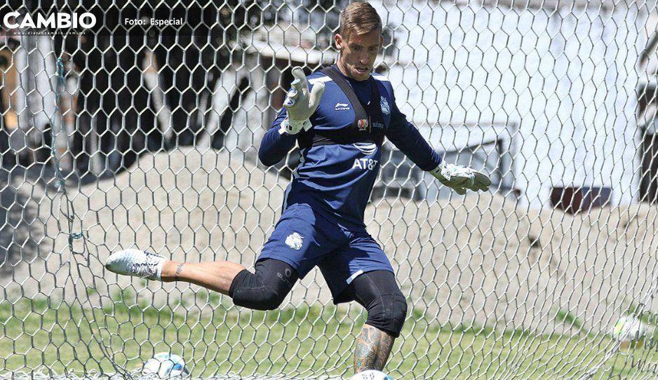 Vikonis admite falta de gol en el Club Puebla, pero 'hay variantes y goleadores'
