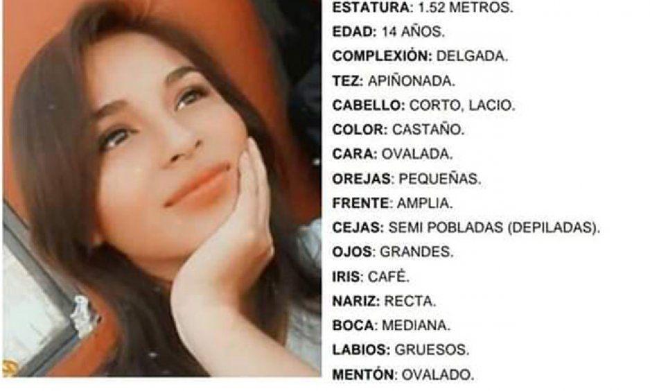 Desaparece Arantza Lizeth en San Ramón Tercera Sección ¡ayuda a encontrarla!