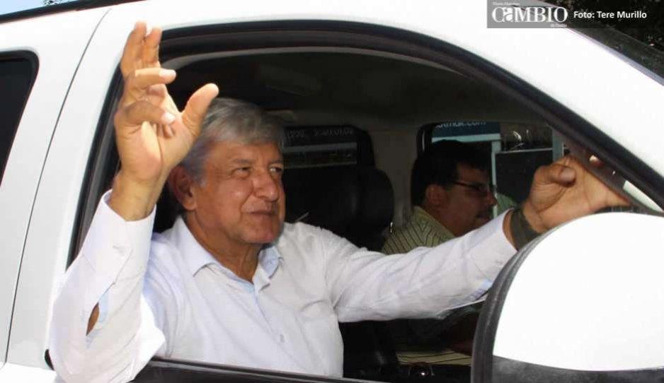 Primera gira de AMLO en Puebla será el 10 de marzo