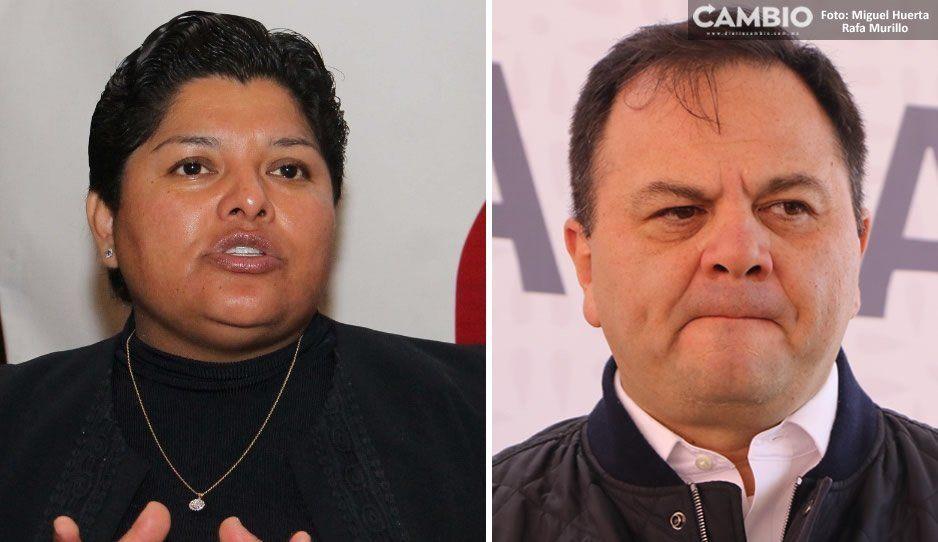 Alcaldesa de San Andrés asegura que la administración de Rodríguez Almeida sabía del adeudo de la vía Atlixcáyotl