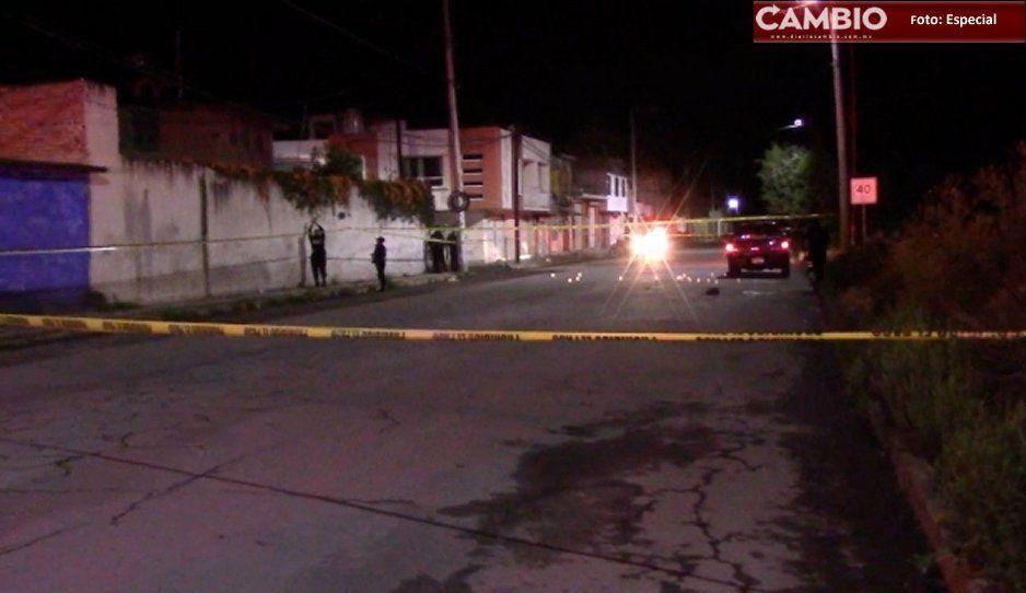 Mueren las dos personas baleadas en Texmelucan, uno era menor de edad