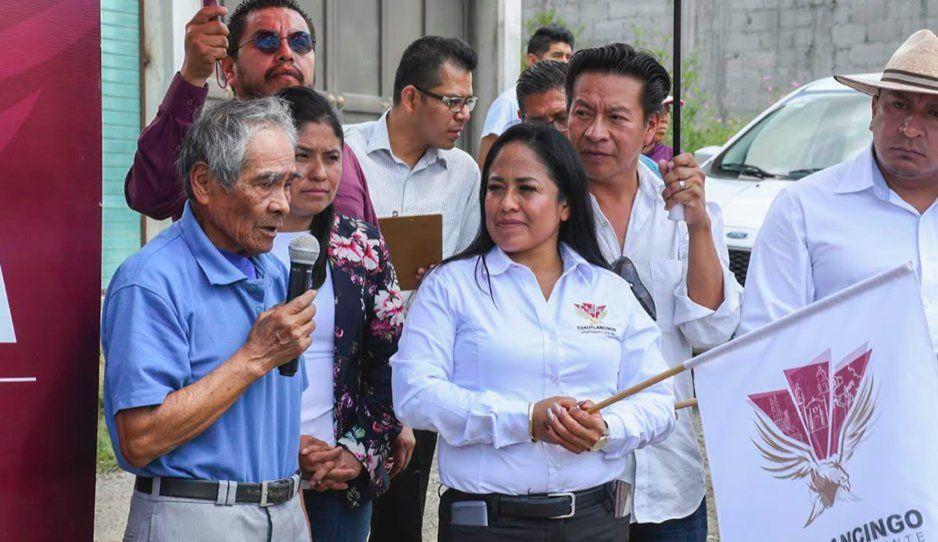 Lupita Daniel emprende en Cuautlancingo grandes obras en beneficio colectivo