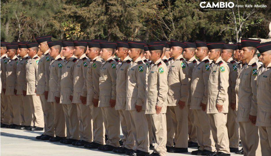 Más del 70 % de jóvenes que realiza Servicio Militar quiere pertenecer a la Guardia Nacional