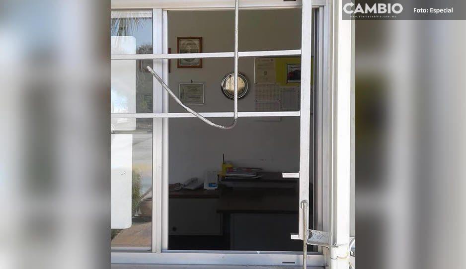 Ladrones dejan sin equipo de cómputo a niños de preescolar en Atlixco