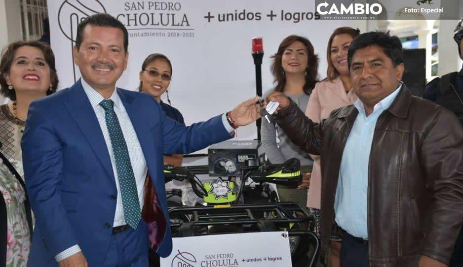 Anuncia Arriaga Lila mayor infraestructura  para juntas auxiliares de San Pedro Cholula